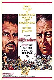 Image result for movie poster the agony and the ecstasy